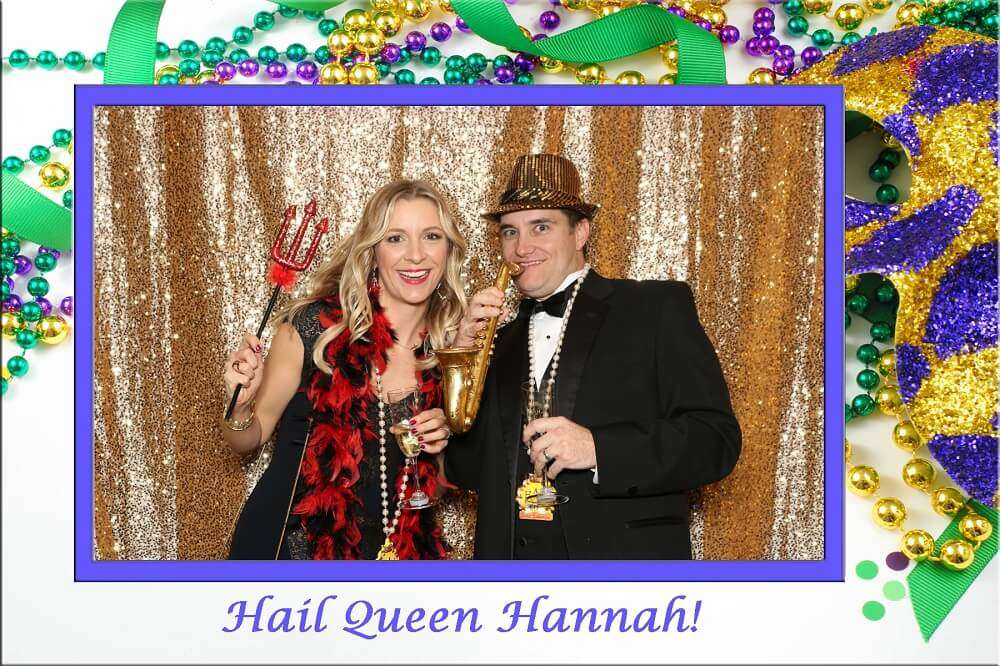 New Orleans Photo Booth Antics