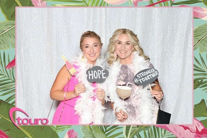 Beautiful Ladies at a Corporate Event Photo Booth